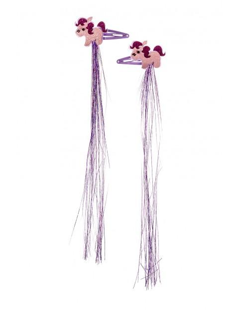 Spinki do włosów- jednorożce