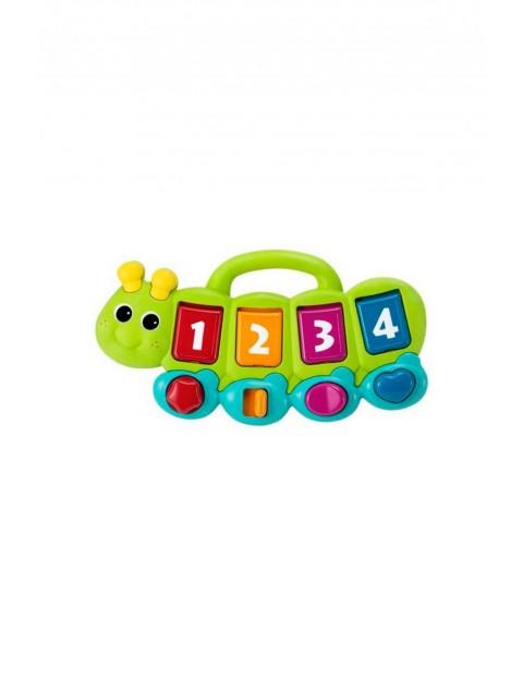 Muzyczna gąsiennica, zabawka interaktywna B-kids