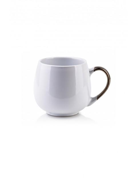 CAL WHITE Kubek porcelanowy biały 390ml