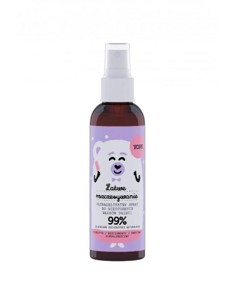 Yope Ultradelikatny spray do włosów dla dzieci  150ml