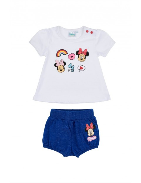 Spodenki i t-shirt dla niemowlaka- Minnie Mouse