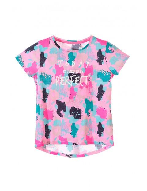 T-shirt dziewczęcy 4I3453