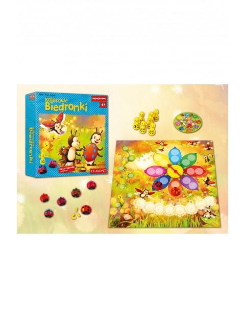 Kolorowe Biedronki gra kooperacyjna wiek 4+
