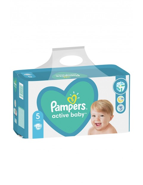 Pampers Active Baby, rozmiar5, 110szt, 11-16kg
