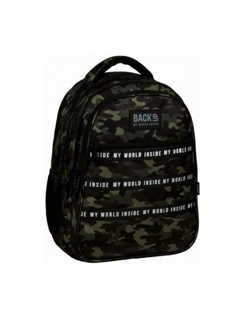 Plecak szkolny dla chłopaka BackUp Moro