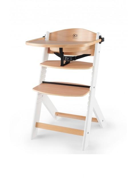 Krzesełko do karmienia ENOCK drewniane białe nogi Kinderkraft