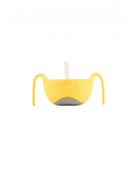 Miseczka ze słomką lemon sherbet B.BOX 12msc+