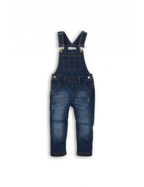 Spodnie ogrodniaczki dziewczęce 4L35A1