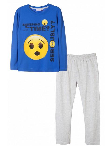 Piżama chłopięca Emoji 1W35DM