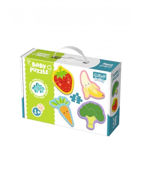 Puzzle Baby Warzywa i owoce Trefl