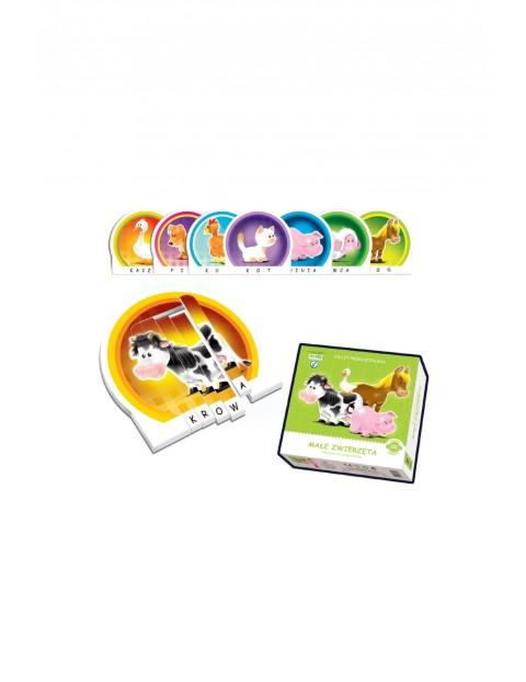 Układanka dla dzieci- Małe zwierzęta 5+