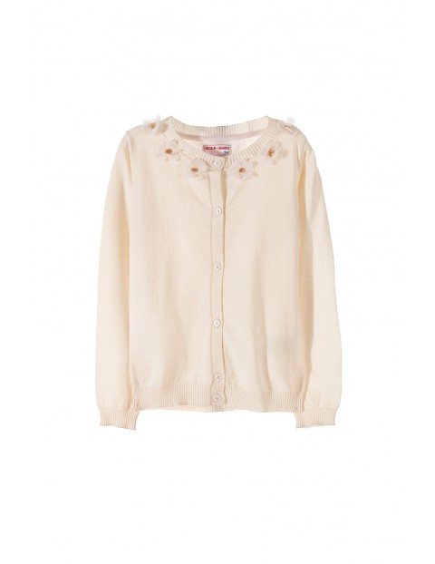 Sweter dziewczęcy 4C3403
