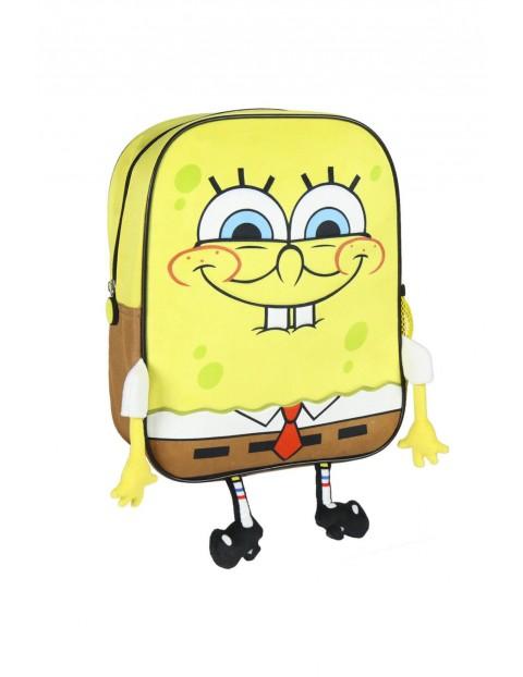 Plecak z aplikacją Sponge Bob - żółty