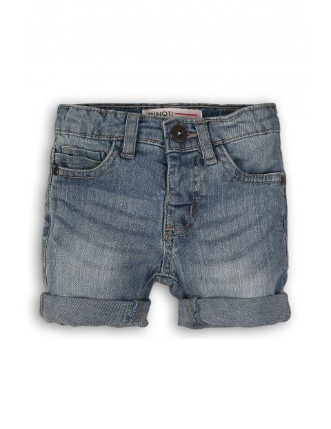 Spodnie niemowlęce - niebieskie