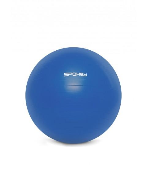 Piłka gimnastyczna niebieska z pompką FITBALL