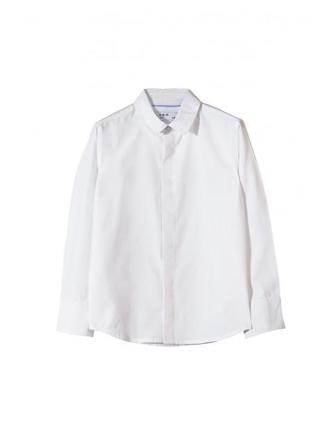 Koszula chłopięca biała 1J3401