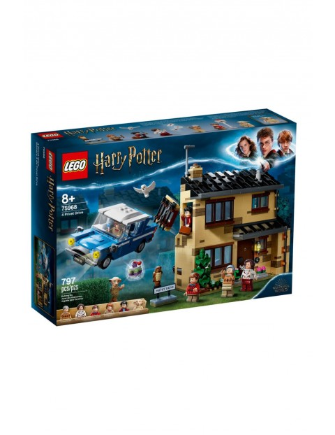 Lego Harry Potter - Privet Drive - 797 elementów wiek 8+