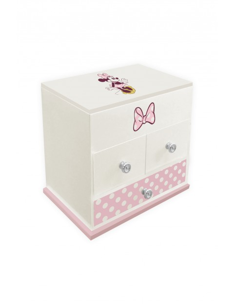 Pudełko na biżuterię Myszka Minnie - lusterko i efekty dźwiękowe