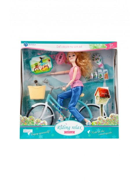 Lalka z rowerem i akcesoriami Mega Creative