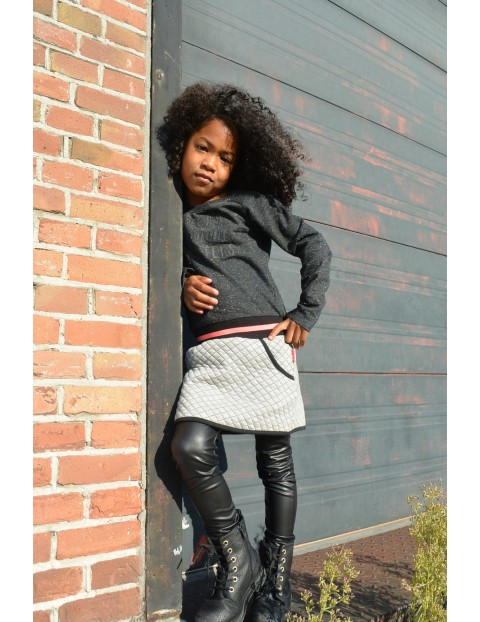 Leginsy dziewczęce czarne
