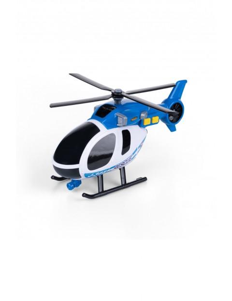 Flota miejska - helikopter ratunkowy- światło i dźwięk