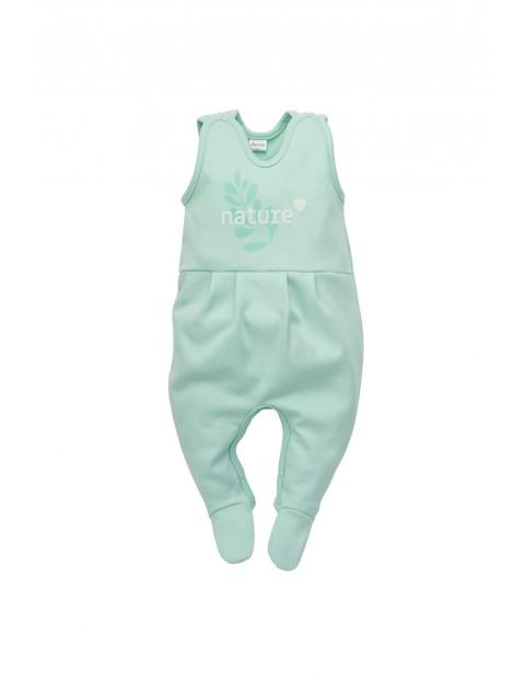 Śpiochy niemowlęce niebieskie - Nature