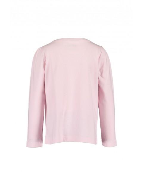 Różowa bluzka z koniem- 100% bawełna