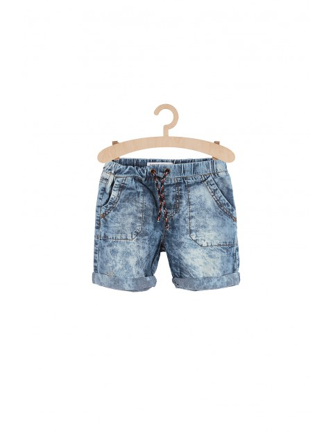 Jeansowe szorty dla chłopca