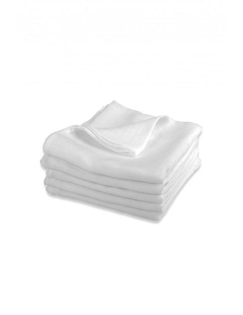 Bawełniane pieluchy z tetry- białe 5pak