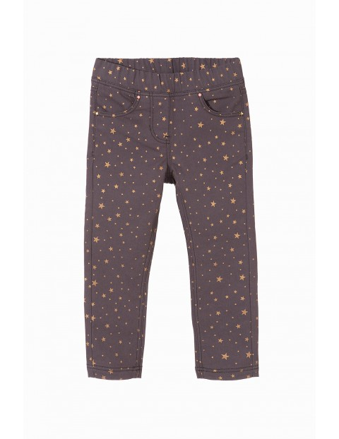 Spodnie dziewczęce 3L3307