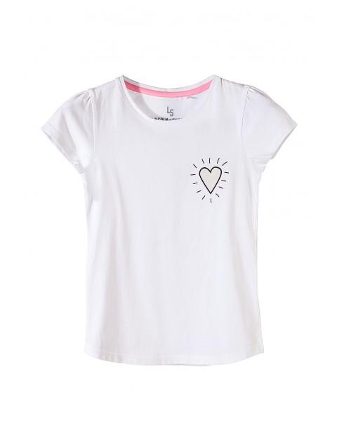 Koszulka dziewczęca 100% bawełna 4I3510