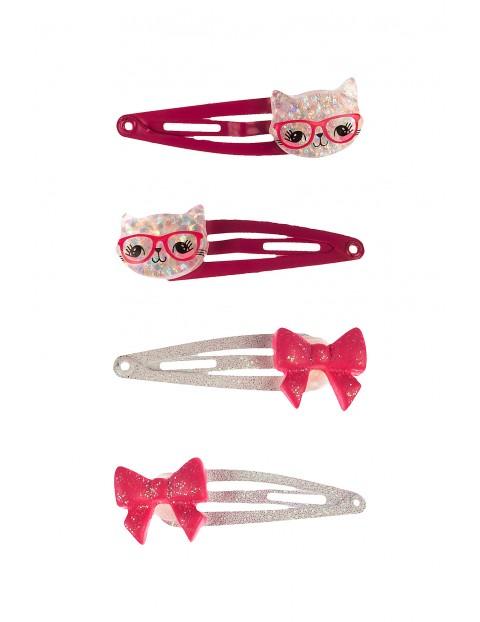 Spinki- kolorowe ozdoby do włosów dla dziewczynki