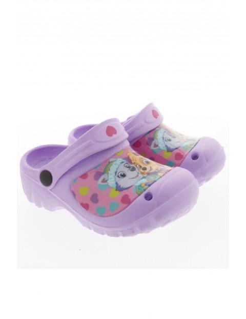 Sandały dziewczęce Psi Patrol - fioletowe