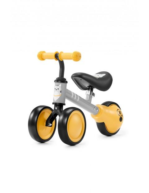Mini rowerek biegowy Kinderkraft CUTIE żółty 12msc+