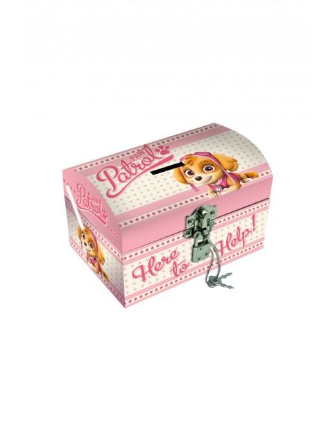 Pudełko na biżuterię z kłódką, 14x10x9,8 cm Paw Patrol