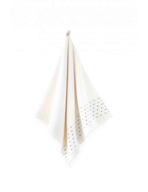 Ręcznik antybakteryjny Oscar z bawełny egipskiej krem- 2pack 30x50cm