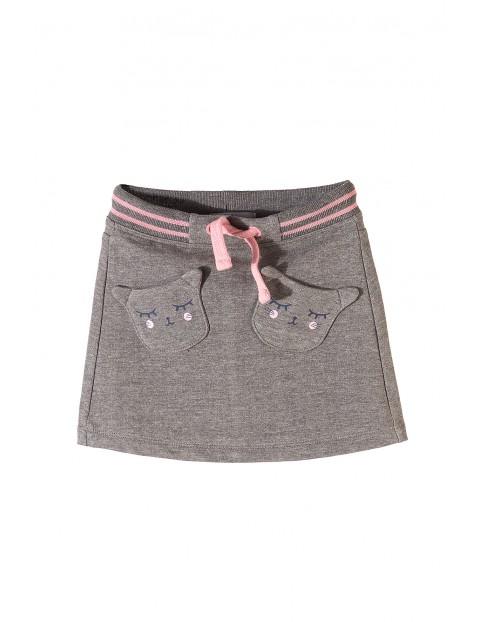Spódnica dziewczęca dzianinowa 3Q3504
