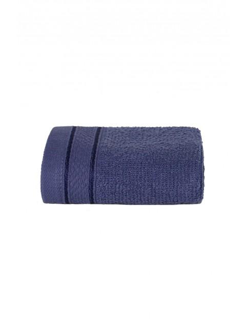 Bawełniane ręczniki granatowe 2-pack 30 x 50 cm