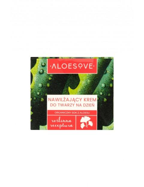 Nawilżający krem do twarzy na dzień Aloesove 50 ml