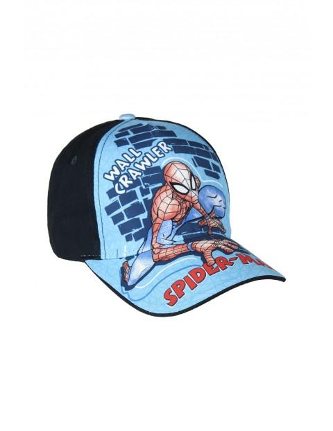 Czapka z daszkiem Spiderman - granatowa rozm 53