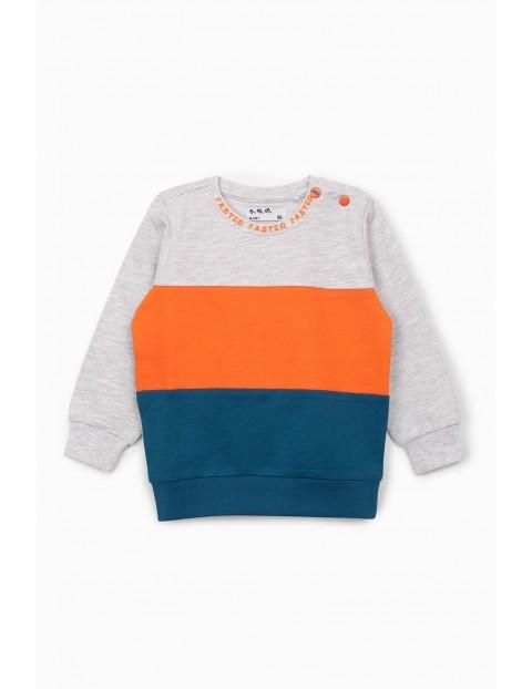 Bluza dresowa niemowlęca w trzech kolorach