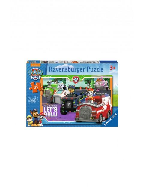 Puzzle Psi Patrol - 35 elementów wiek 3+