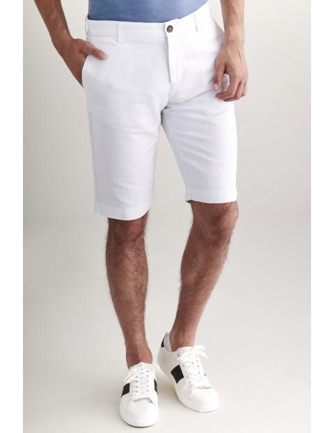 Bermudy męskie Tatuum - białe