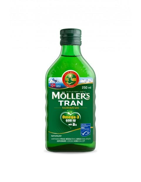 Möller's Tran Norweski Naturalny - suplement diety 250 ml