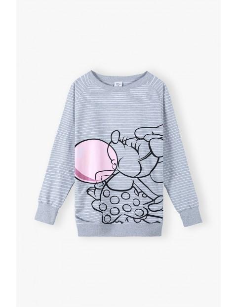 Bluza dresowa damska-ciążowa Minnie Mouse