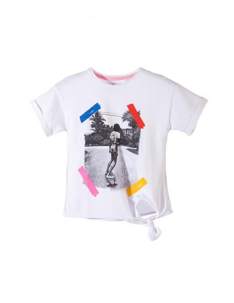Koszulka dziewczęca 100%bawełna 4I3603