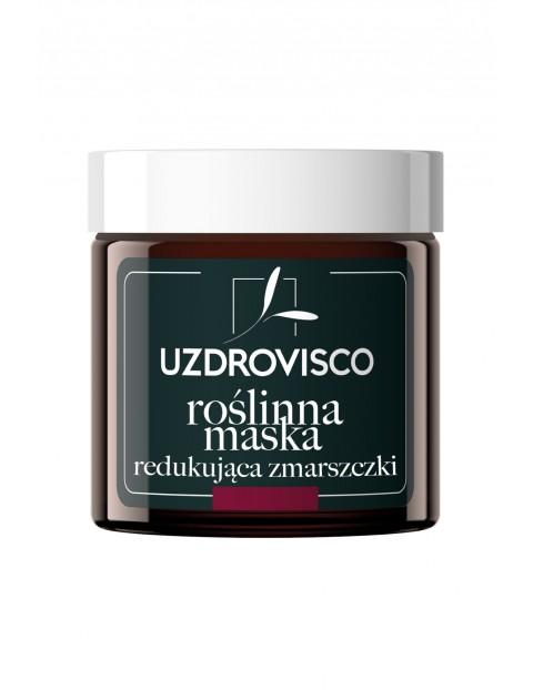Uzdrovisco Czarny Tulipan Roślinna maska redukująca zmarszczki 50 ml