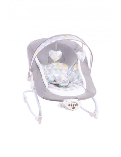 Leżaczek dla niemowlaka Lionelo Zoe Szary