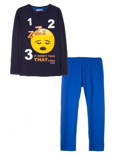 Pidżama chłopięca Emoji 1W35DL