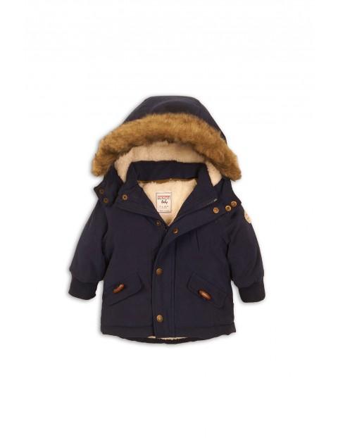 Kurtka niemowlęca zimowa- granatowa